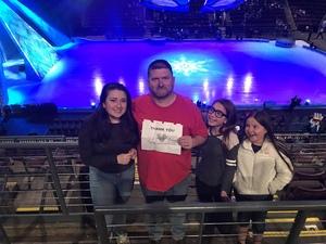 Bernard attended Disney on Ice Frozen - Sunday Evening on Mar 25th 2018 via VetTix