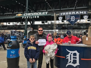 Paul attended Detroit Tigers vs. Pittsburgh Pirates - MLB - Opening Day on Mar 29th 2018 via VetTix