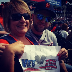 Robert Schroeder attended Detroit Tigers vs. Pittsburgh Pirates - MLB - Opening Day on Mar 29th 2018 via VetTix