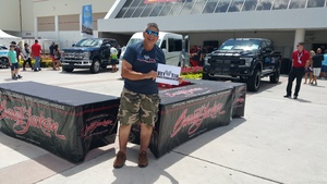 Jeff attended Barrett Jackson - the World's Greatest Collector Car Auction in Palm Beach, Fl - Tickets Are 2 for 1, So 1 Tickets Will Get 2 People in on Apr 14th 2018 via VetTix