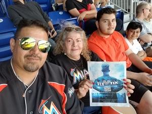 wilson attended Miami Marlins vs. Chicago Cubs - MLB - Marlins Home Opener on Mar 29th 2018 via VetTix