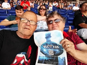 James attended Miami Marlins vs. Chicago Cubs - MLB - Marlins Home Opener on Mar 29th 2018 via VetTix