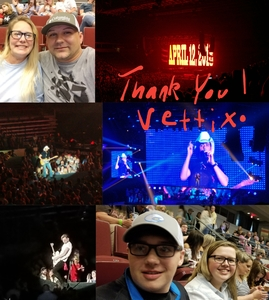 Billy attended Brad Paisley - Weekend Warrior World Tour With Dustin Lynch, Chase Bryant and Lindsay Ell on Apr 12th 2018 via VetTix