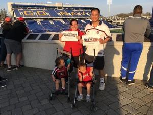 Ian attended DC United vs. Columbus Crew SC - MLS on Apr 14th 2018 via VetTix
