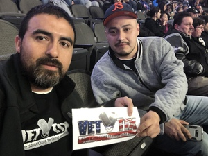 Alberto attended Chicago Bliss vs. Los Angeles Temptation - Legends Football League - Women of the Gridiron on Apr 14th 2018 via VetTix