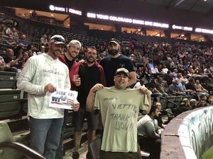 Adam attended Denver Dream vs. Omaha Heart - Legends Football League - Women of the Gridiron on Apr 27th 2018 via VetTix