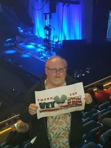 Kenny attended Celtic Women Live on Mar 30th 2018 via VetTix