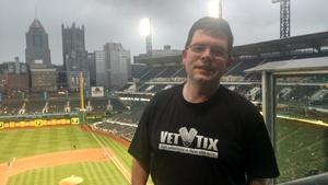 Edward attended Pittsburgh Pirates vs. Cincinnati Reds - MLB on Apr 6th 2018 via VetTix