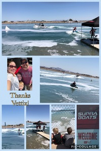 Renee attended Supra Boats 2018 Wakeboarding Tour - Saturday on Apr 14th 2018 via VetTix