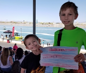 James attended Supra Boats 2018 Wakeboarding Tour - Saturday on Apr 14th 2018 via VetTix
