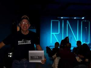 Jared attended The Decline and Fall of Jack Merrywell Comedy Show - Live Taping on Apr 14th 2018 via VetTix
