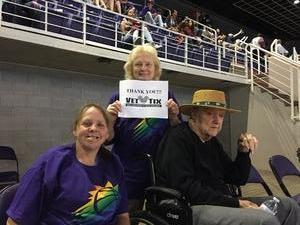 BOBBY attended Phoenix Suns vs. Sacramento Kings - NBA on Apr 3rd 2018 via VetTix