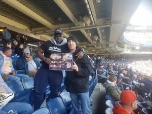 Freed attended New York Yankees vs. Baltimore Orioles - MLB on Apr 7th 2018 via VetTix