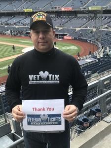 Ruben attended New York Yankees vs. Baltimore Orioles - MLB on Apr 7th 2018 via VetTix