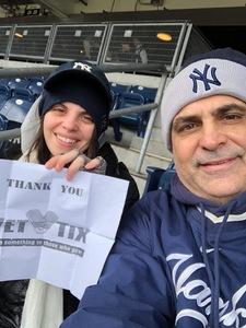Thomas attended New York Yankees vs. Baltimore Orioles - MLB on Apr 7th 2018 via VetTix