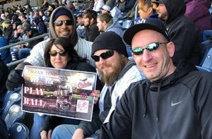 Brian attended New York Yankees vs. Baltimore Orioles - MLB on Apr 7th 2018 via VetTix