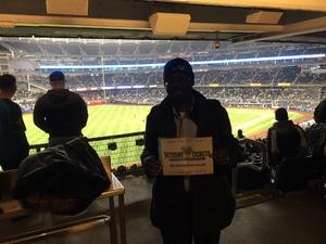 Anthony attended New York Yankees vs. Baltimore Orioles - MLB on Apr 7th 2018 via VetTix