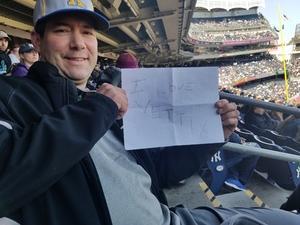 Joseph attended New York Yankees vs. Baltimore Orioles - MLB on Apr 7th 2018 via VetTix
