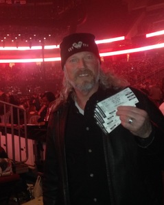 Roger attended Bon Jovi - This House is not for Sale Tour - Sunday Night on Apr 8th 2018 via VetTix
