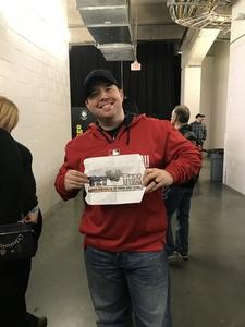 Richard attended Bon Jovi - This House is not for Sale Tour - Sunday Night on Apr 8th 2018 via VetTix