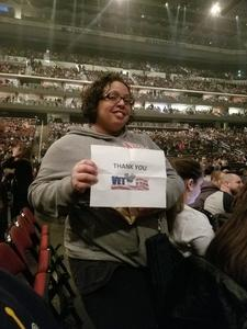 Jessenia attended Bon Jovi - This House is not for Sale Tour - Sunday Night on Apr 8th 2018 via VetTix
