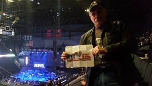 Joe attended Brad Paisley - Weekend Warrior World Tour With Dustin Lynch, Chase Bryant and Lindsay Ell on Apr 7th 2018 via VetTix
