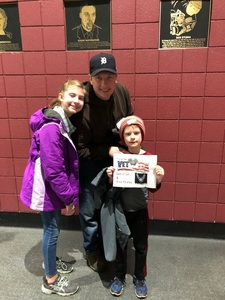 Scott attended Brad Paisley - Weekend Warrior World Tour With Dustin Lynch, Chase Bryant and Lindsay Ell on Apr 7th 2018 via VetTix