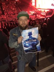 Ryan attended Brad Paisley - Weekend Warrior World Tour With Dustin Lynch, Chase Bryant and Lindsay Ell on Apr 7th 2018 via VetTix