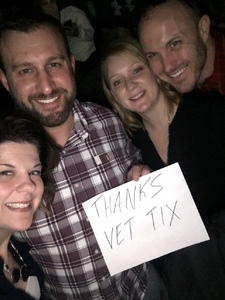 Kyle attended Little Big Town - the Breakers Tour With Kacey Musgraves and Midland on Apr 7th 2018 via VetTix