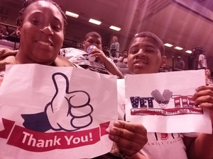 Evelyn attended Baltimore Brigade vs. Washington Valor - AFL on Apr 13th 2018 via VetTix
