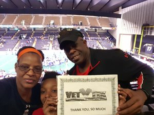 MILLICENT attended Baltimore Brigade vs. Washington Valor - AFL on Apr 13th 2018 via VetTix