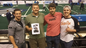 Anthony attended Baltimore Brigade vs. Washington Valor - AFL on Apr 13th 2018 via VetTix