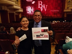 Vincent attended Ballet West - the Shakespeare Suite on Apr 14th 2018 via VetTix