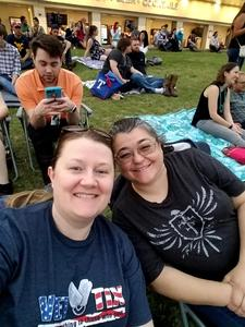 Heidi attended Brad Paisley Weekend Warrior World Tour Standing and Lawn Seats Only on Apr 13th 2018 via VetTix
