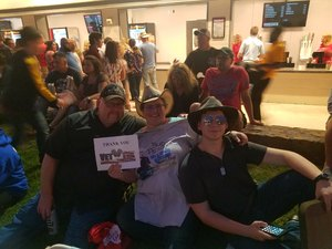 Christina attended Brad Paisley Weekend Warrior World Tour Standing and Lawn Seats Only on Apr 13th 2018 via VetTix