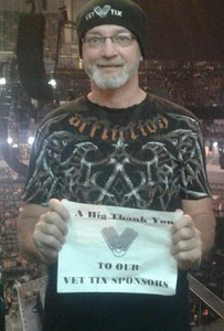 Bryon attended Brad Paisley Weekend Warrior World Tour Standing and Lawn Seats Only on Apr 13th 2018 via VetTix