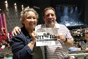 Dawna attended Brad Paisley Weekend Warrior World Tour Standing and Lawn Seats Only on Apr 13th 2018 via VetTix