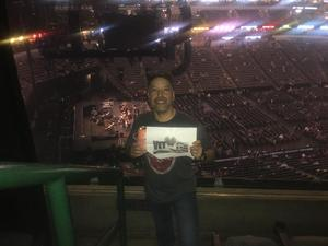 pedro attended Brad Paisley Weekend Warrior World Tour Standing and Lawn Seats Only on Apr 13th 2018 via VetTix