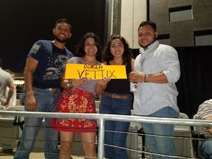 Fidel attended Brad Paisley Weekend Warrior World Tour Standing and Lawn Seats Only on Apr 13th 2018 via VetTix
