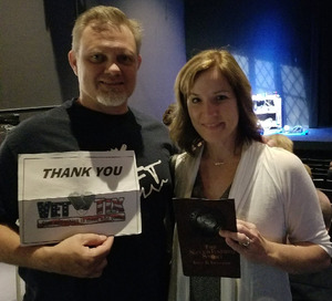 Ward attended The Neverending Story: Live & Legless - 17+ Only on May 3rd 2018 via VetTix