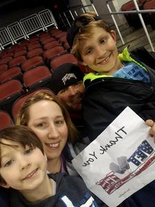 Bill & Hope attended Wichita Force vs. Sioux City - Champions Indoor Football League on Apr 14th 2018 via VetTix