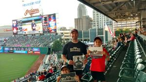 Mike attended Cleveland Indians vs. Tampa Bay Rays - MLB on Sep 2nd 2018 via VetTix