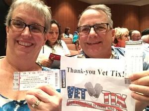 Shelley attended Ruben Studdard Sings Luther Vandross on Apr 14th 2018 via VetTix