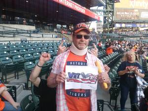 Dave attended Detroit Tigers vs. Tampa Bay Rays - MLB on May 1st 2018 via VetTix