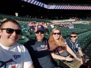 Michael attended Detroit Tigers vs. Tampa Bay Rays - MLB on May 1st 2018 via VetTix