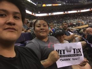 Marissa attended Arizona Rattlers vs. Green Bay Blizzard - IFL on Apr 21st 2018 via VetTix