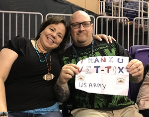 Christopher attended Arizona Rattlers vs. Green Bay Blizzard - IFL on Apr 21st 2018 via VetTix