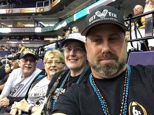 Darin attended Arizona Rattlers vs. Green Bay Blizzard - IFL on Apr 21st 2018 via VetTix