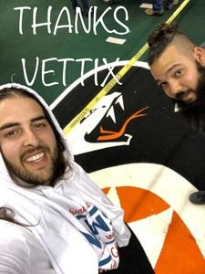 Justin attended Arizona Rattlers vs. Green Bay Blizzard - IFL on Apr 21st 2018 via VetTix