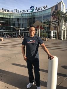 Alejandro attended Arizona Rattlers vs. Green Bay Blizzard - IFL on Apr 21st 2018 via VetTix